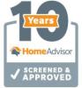 10 Years Home Advisor Screened & Approve